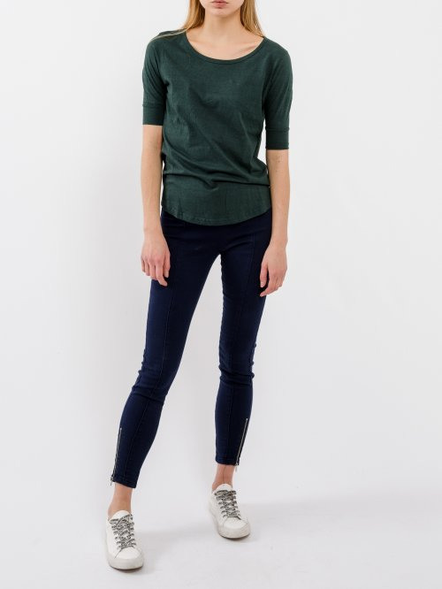 Basic viscose t-shirt