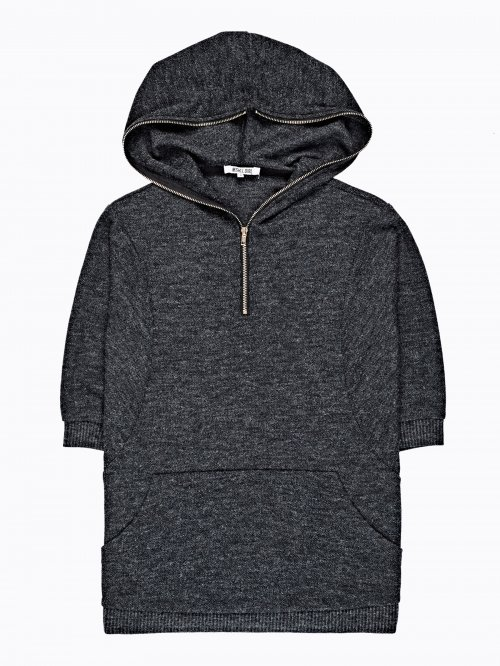 JUMPER WITH HOOD