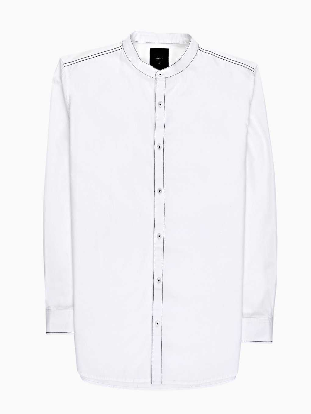 PROLONGED REGULAR FIT COTTON SHIRT WITH BACK PRINT