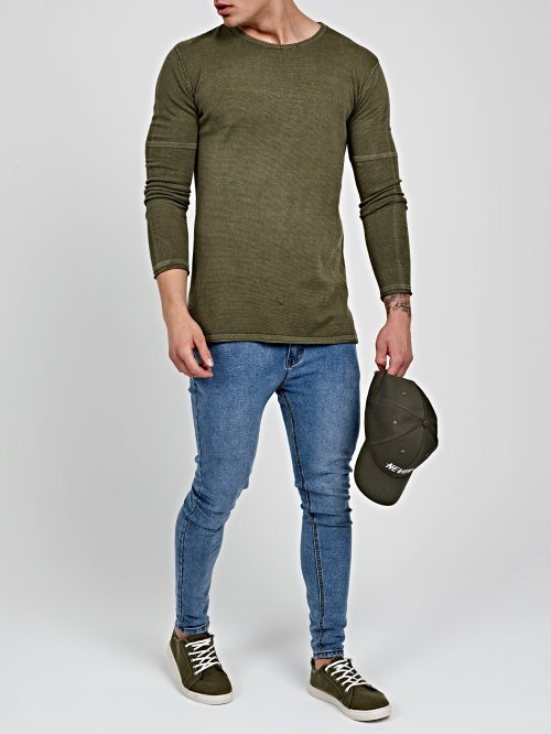 PROLONGED STRUCTURED SWEATER