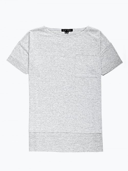 Overesized t-shirt with pocket