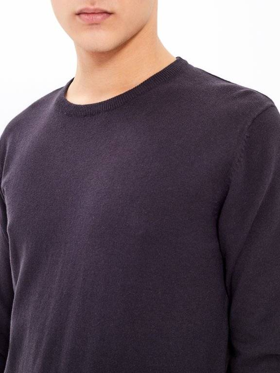 BASIC ROUND NECK JUMPER