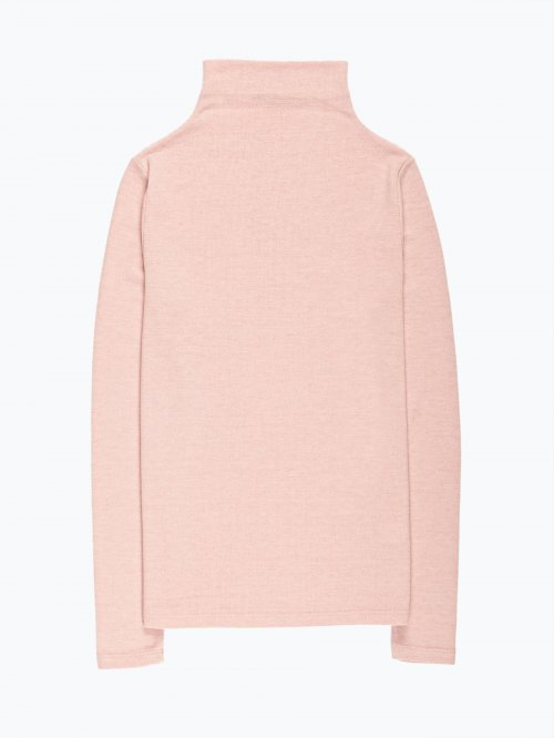 Funnel neck jumper