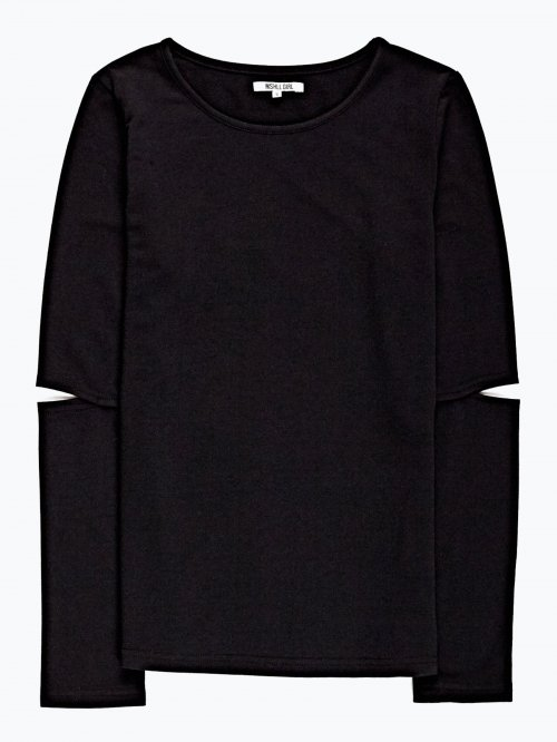 Cut and sew sleeve t-shirt