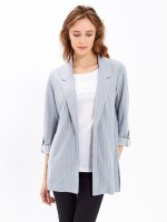OVERSIZED STRIPED BLAZER