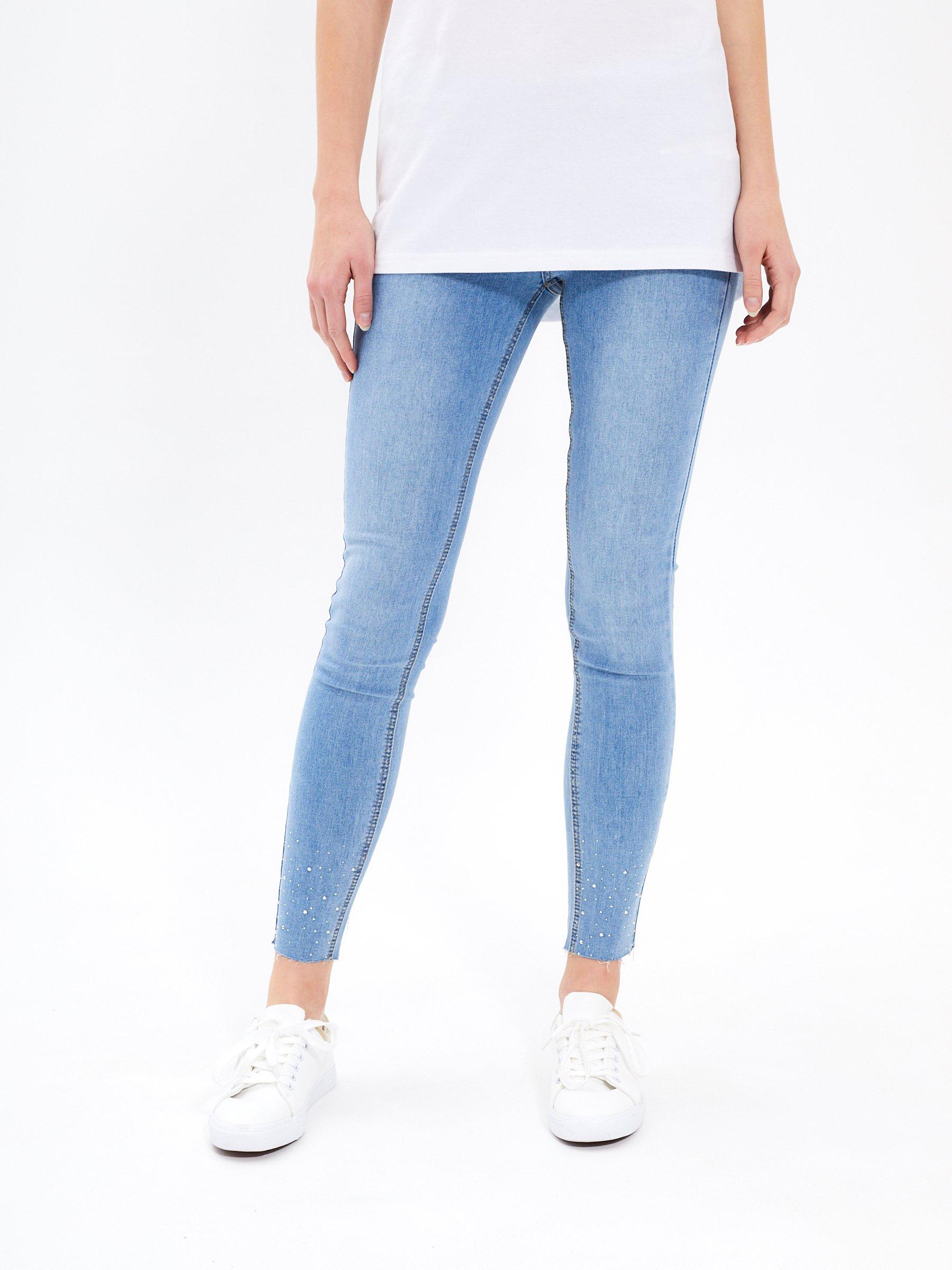 e5ffe3ca7b0 Skinny jeans in light blue wash | GATE