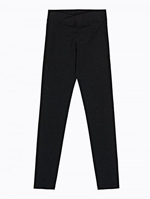 79d94b43850fa Super strečové nohavice z úpletu