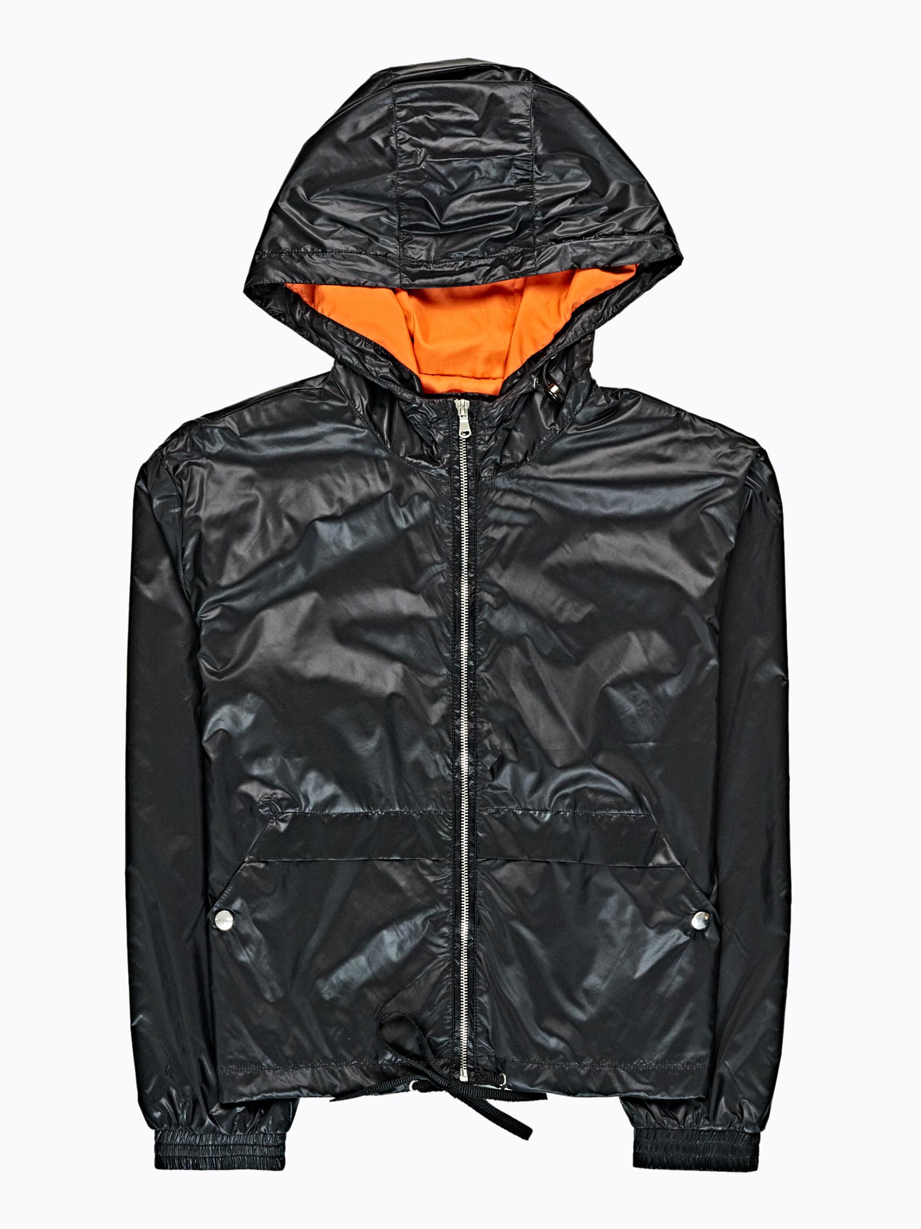 GATE Nylonová bunda s kapucňou