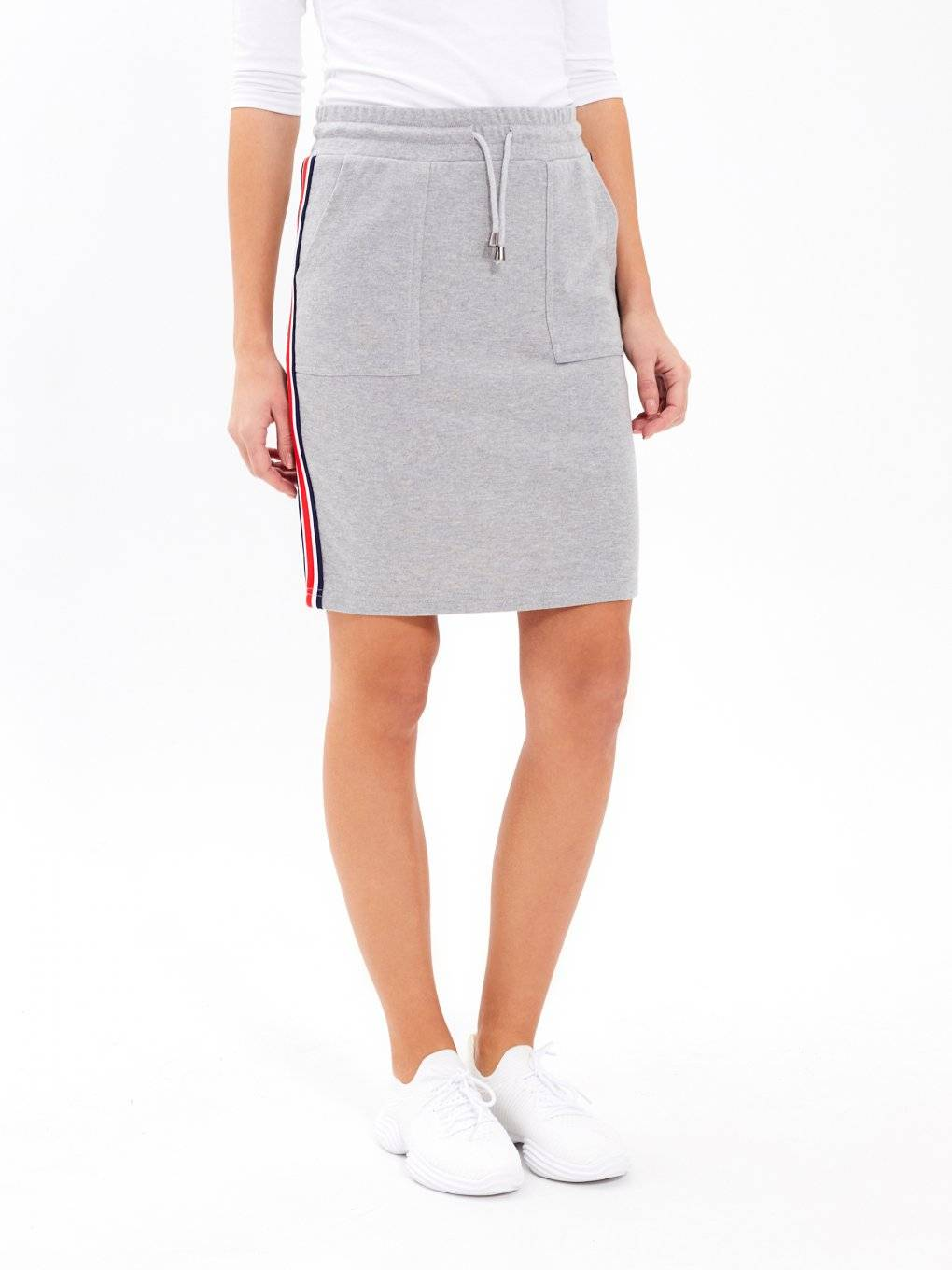 TAPED BODYCON SKIRT