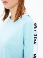 CROPPED TAPED SWEATSHIRT