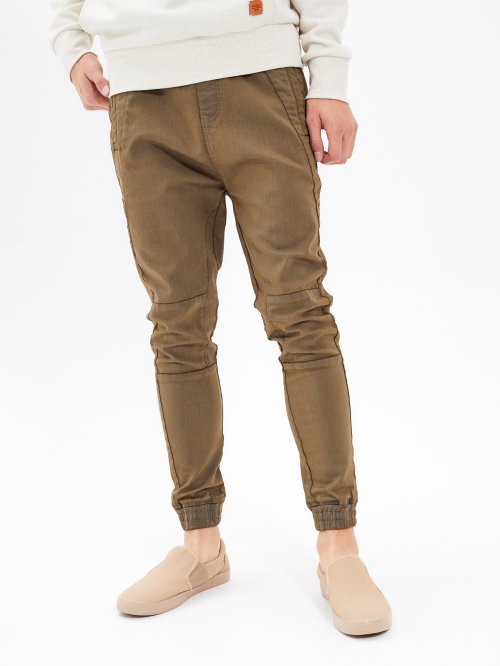 BIKER TROUSERS IN JOGGER FIT