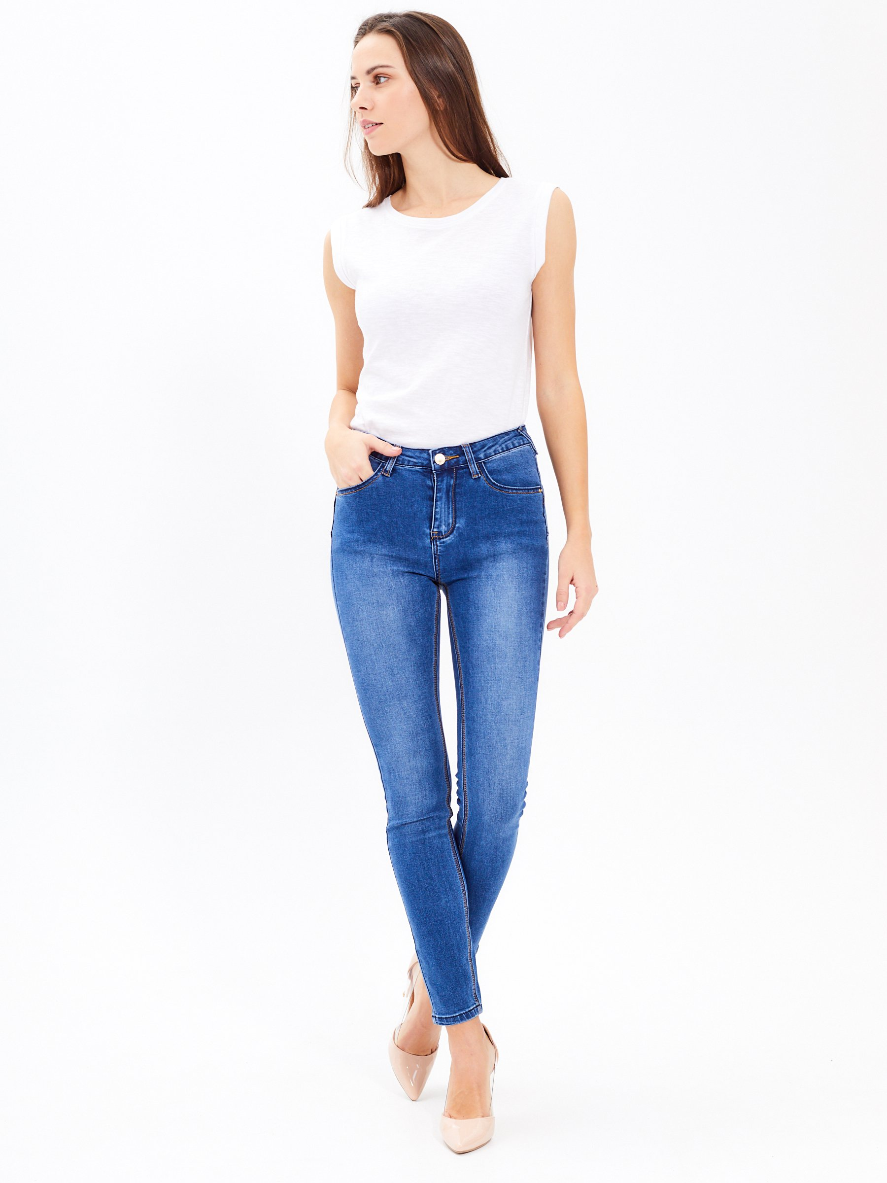 54d0a29314 Skinny push-up jeans