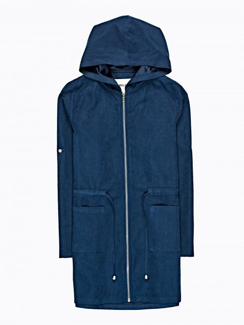 PLAIN PARKA WITH HOOD