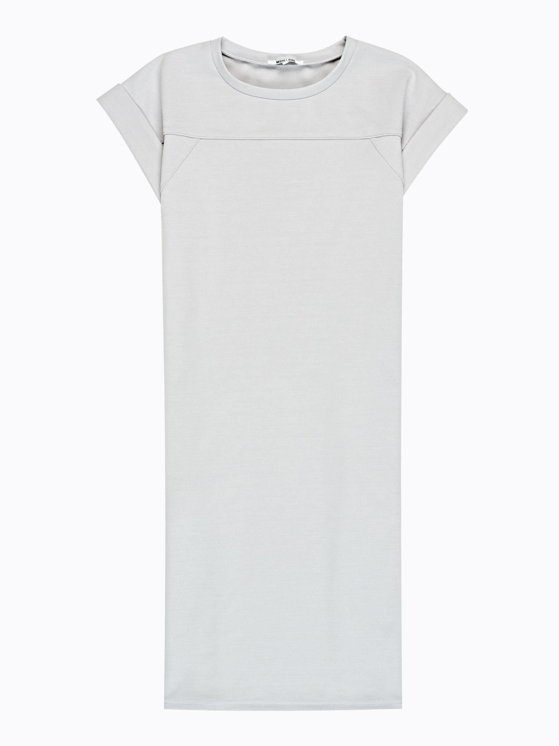 GATE Tričkové šaty s bočními kapsami