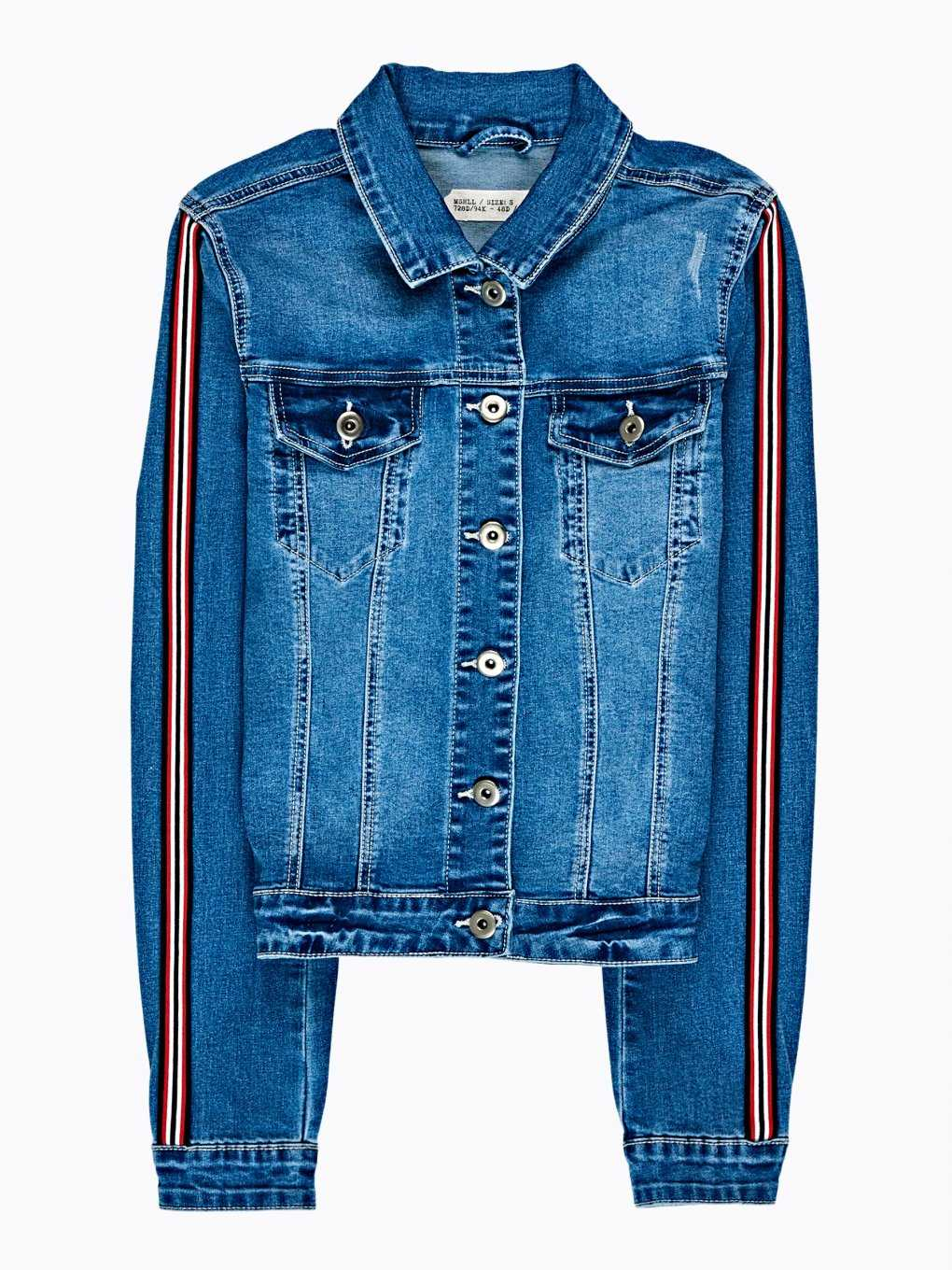 TAPED DENIM JACKET