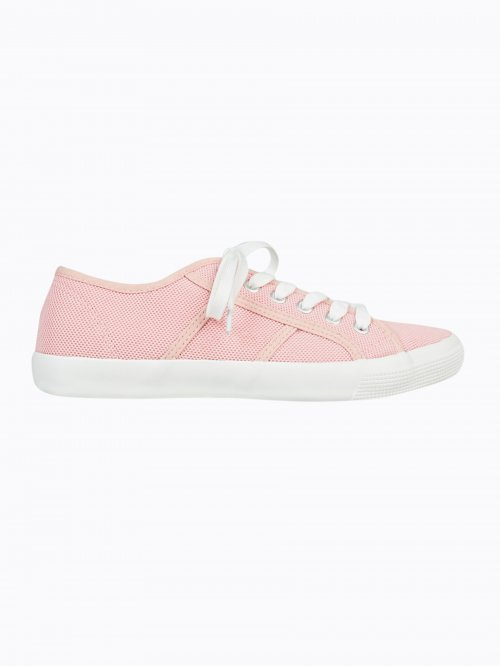 BASIC LACE-UP SNEAKERS