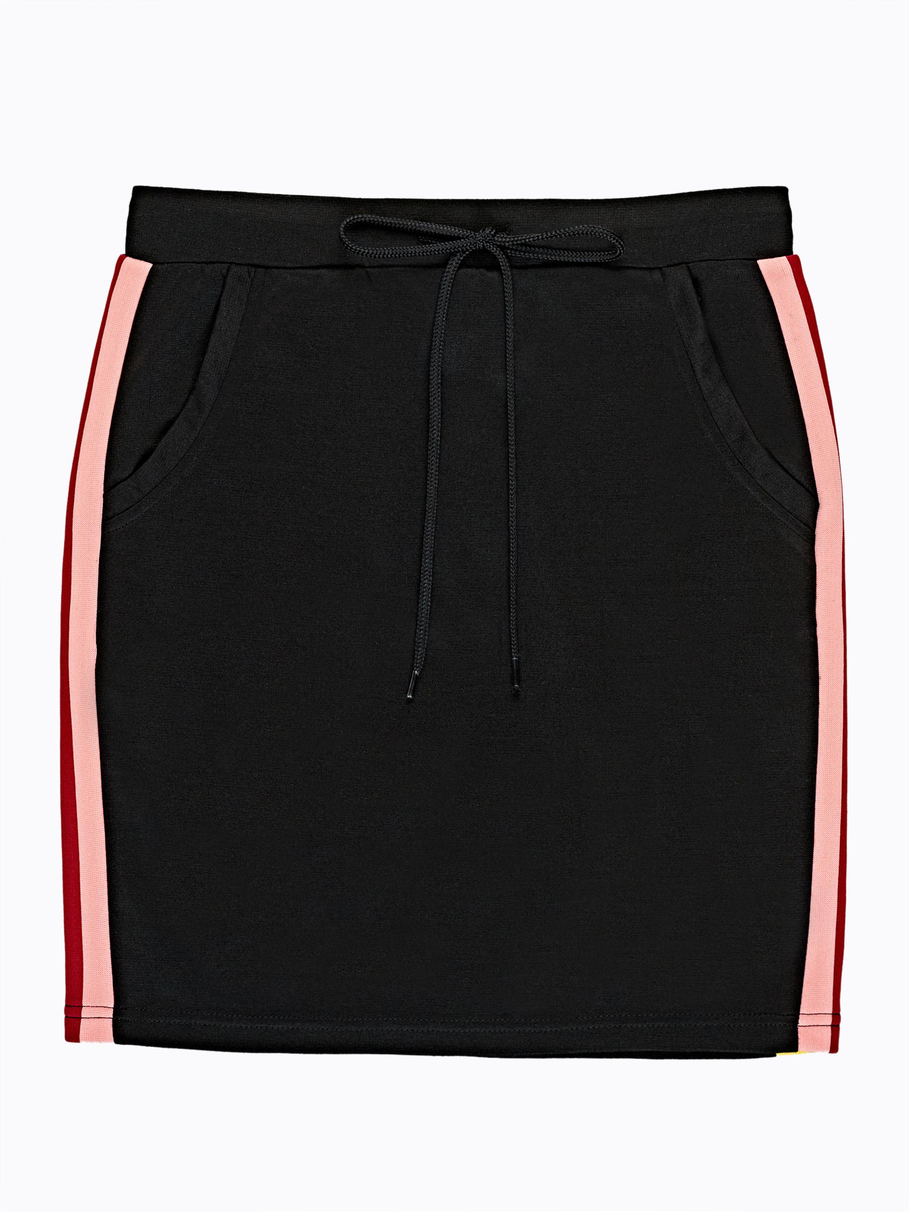 GATE Puzdrová sukňa s bočným prúžkom