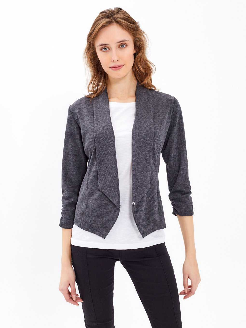 BASIC KNITTED BLAZER