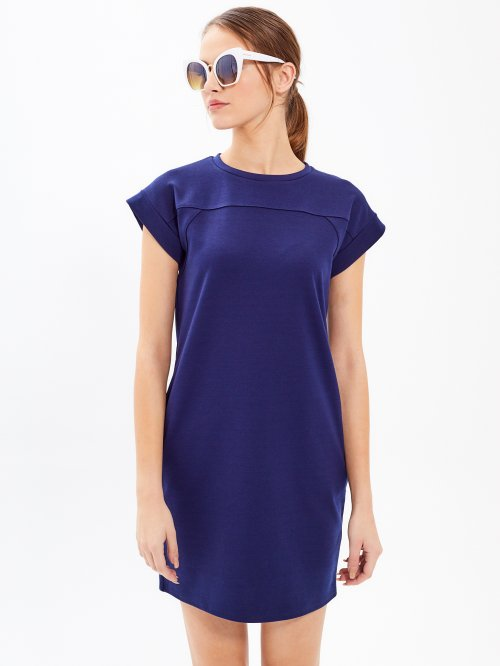 T-shirt dress with side pockets