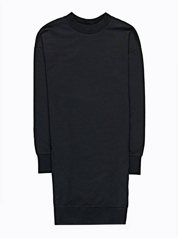 SWEATSHIRT DRESS WITH POCKETS