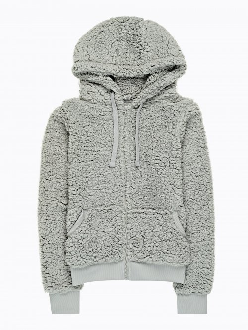 Fuzzy hoodie