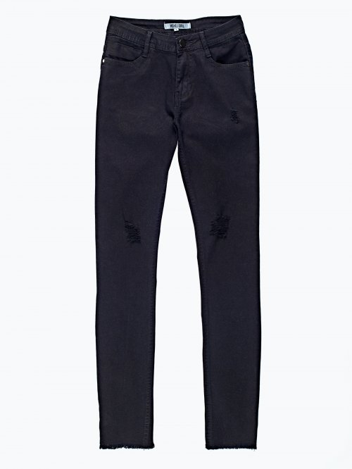 Damaged skinny trousers