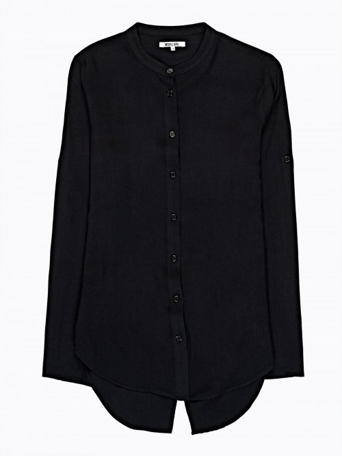SPLIT BACK BLOUSE