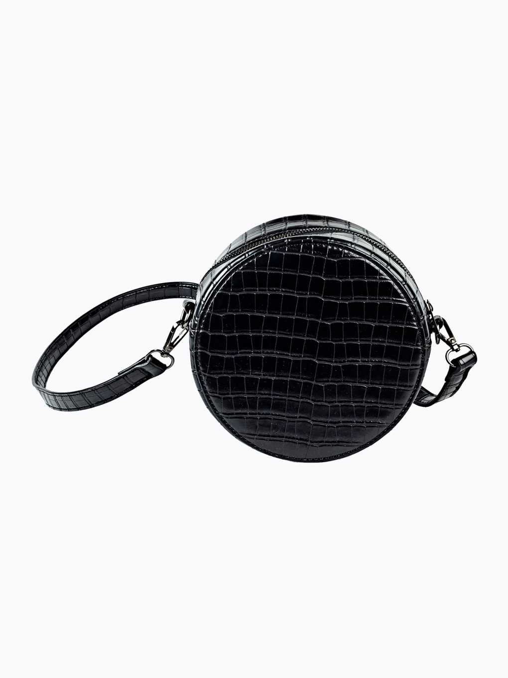 MINI ROUND CROSS BODY BAG