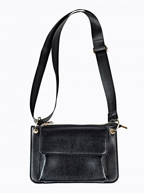 MINI SHOULDER BAG WITH FRONT POCKET