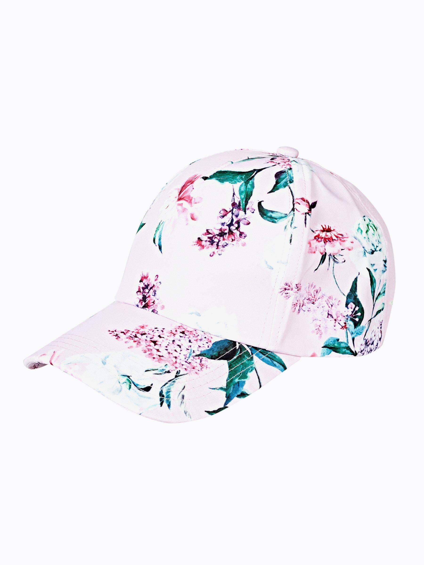 8e394801771 FLORAL PRINT BASEBALL CAP