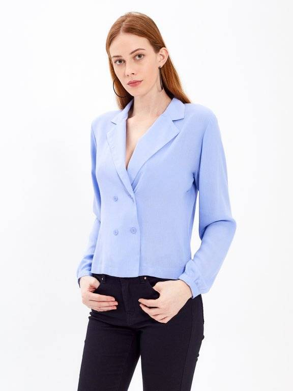 Double brested blouse