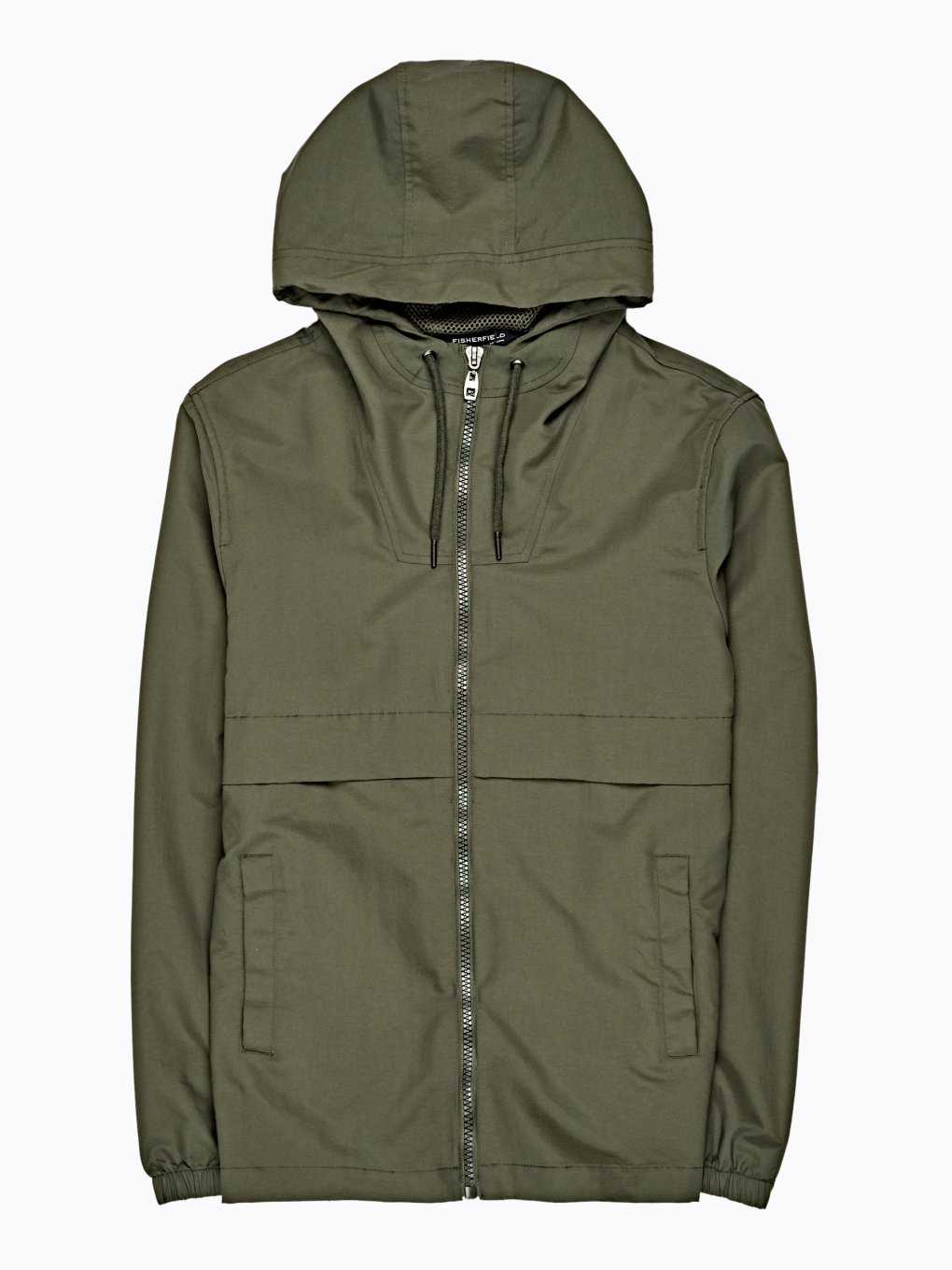 NYLON JACKET WITH SIDE ZIPPERS