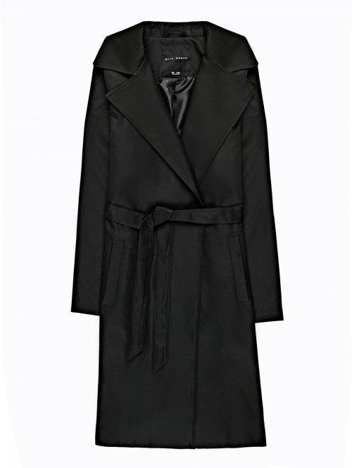 Základný kabát s opaskom 36d67f60aba