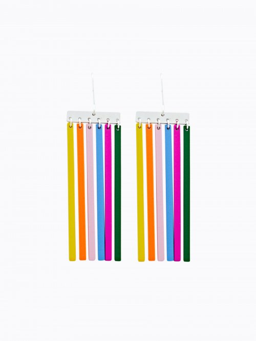 MULTICOLOUR DROP EARRINGS