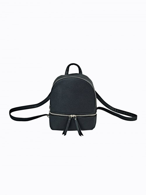 Backpack with zipper