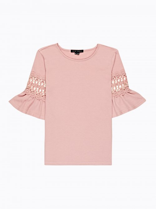 BELL SLEEVES COMBINED TOP