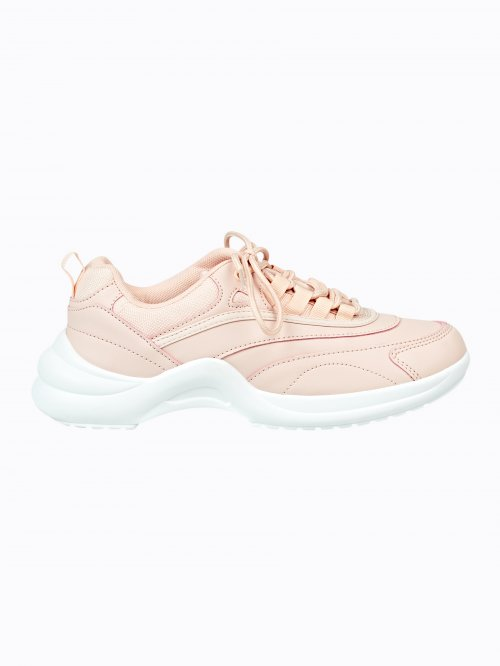 Chunky sole sports sneakers