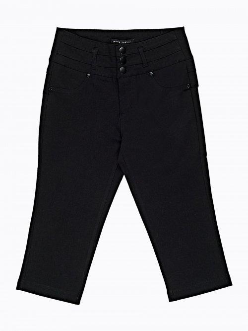 7424c6a0ac2d Trojštvrťové strečové nohavice