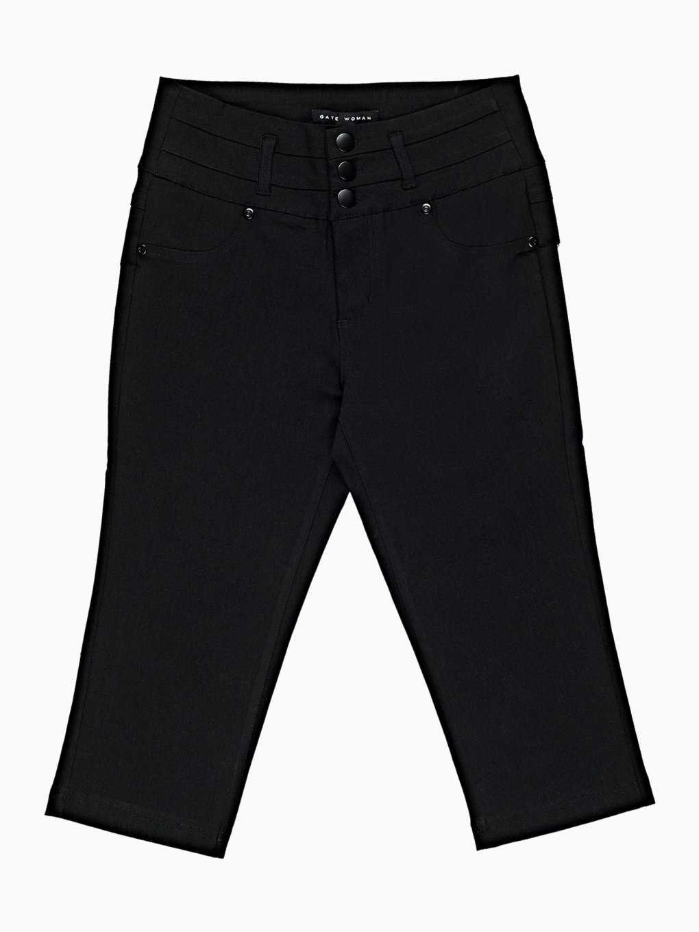3/4 leg stretch trousers