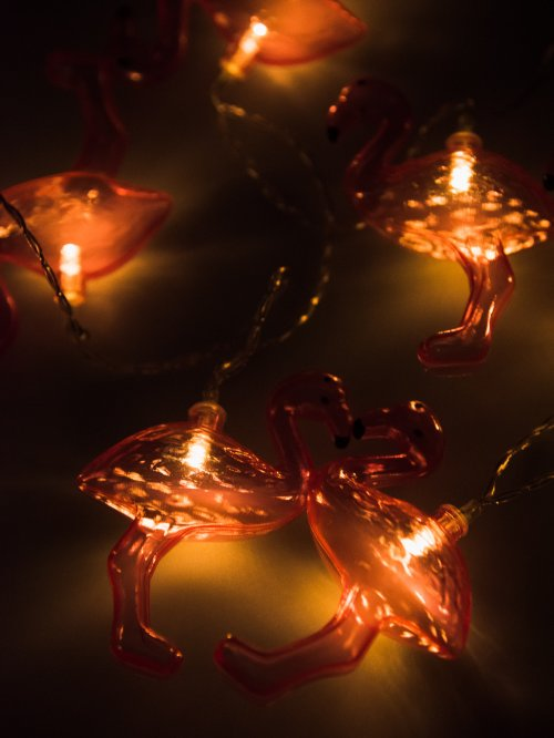 Led flamingo string light