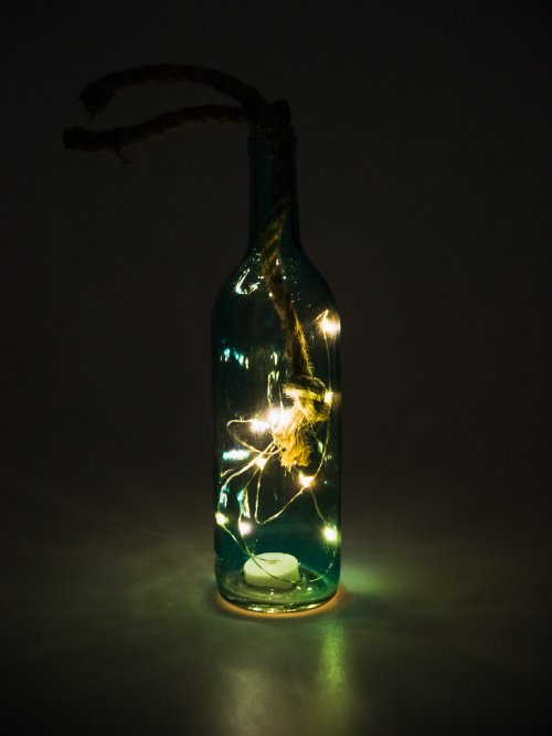 Led light bottle
