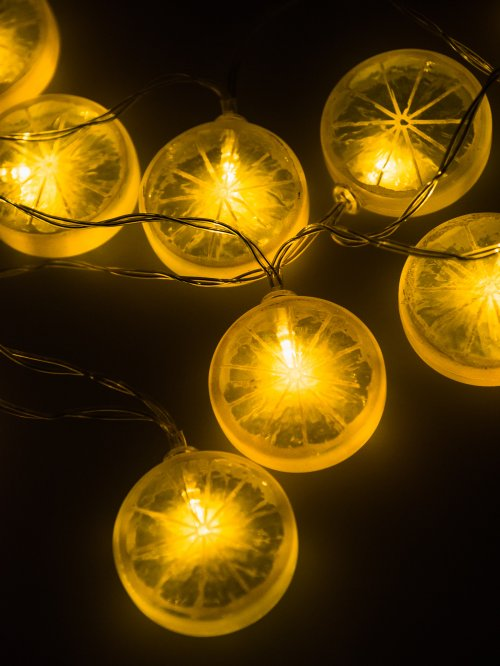 Led lemon string light