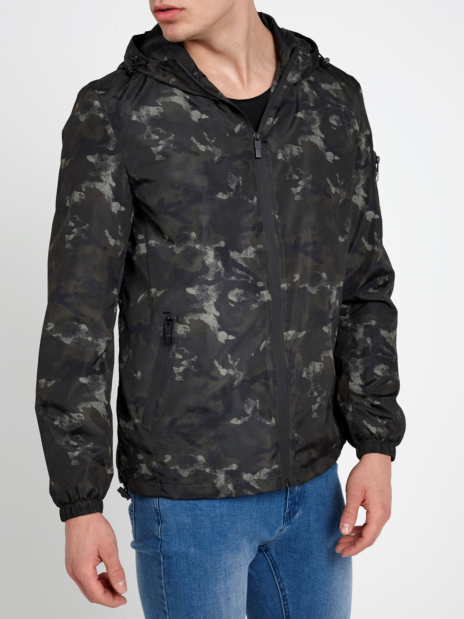 7d6cd92abf87 CAMO PRINT HOODED JACKET