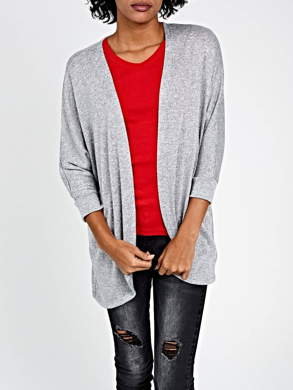 BASIC PROLONGED CARDIGAN