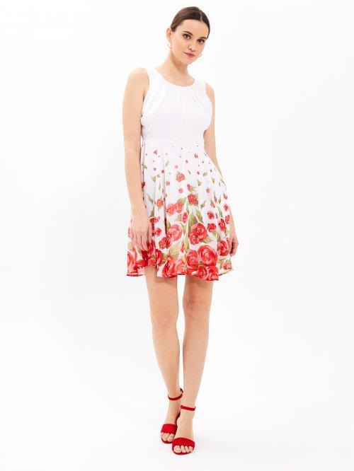 1d1a7bf842a3 Šaty s květinovým potiskem