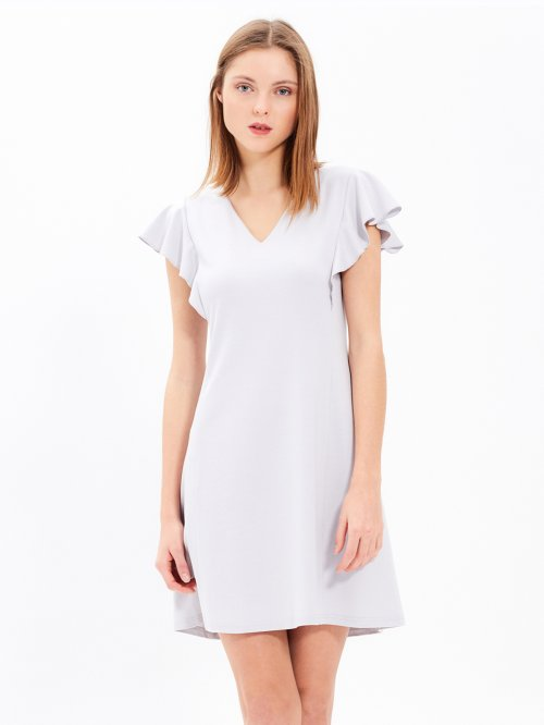 COMFY DRESS WITH RUFFLES