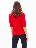 KNOT FRONT ASYMMETRIC TOP