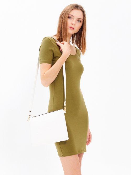c91f70802b81 Základné puzdrové džersejové šaty