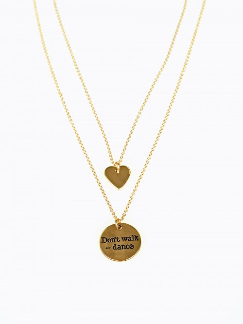 2-PACK PENDANT NECKLACES SET