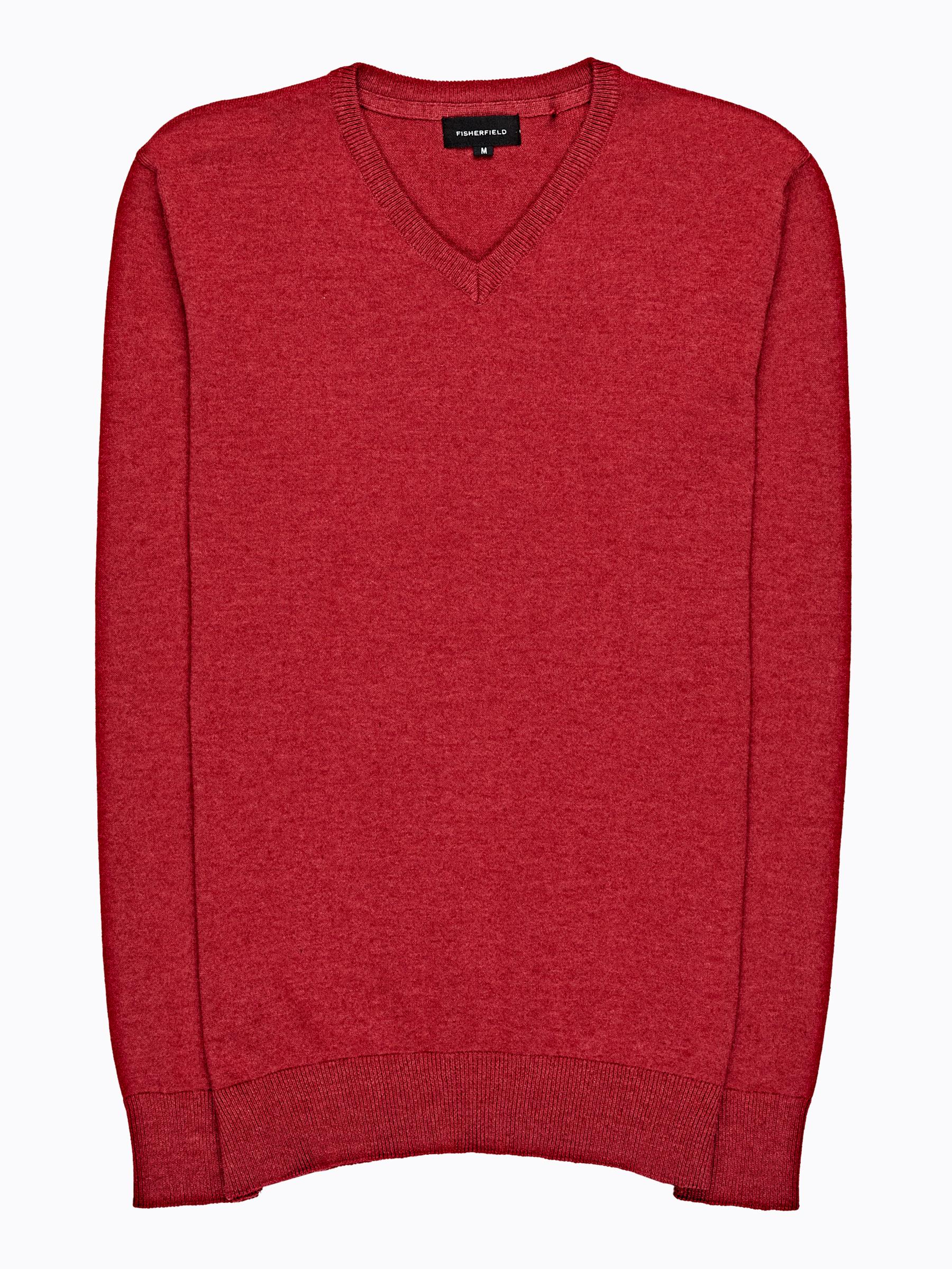 GATE Základný sveter s véčkovým výstrihom